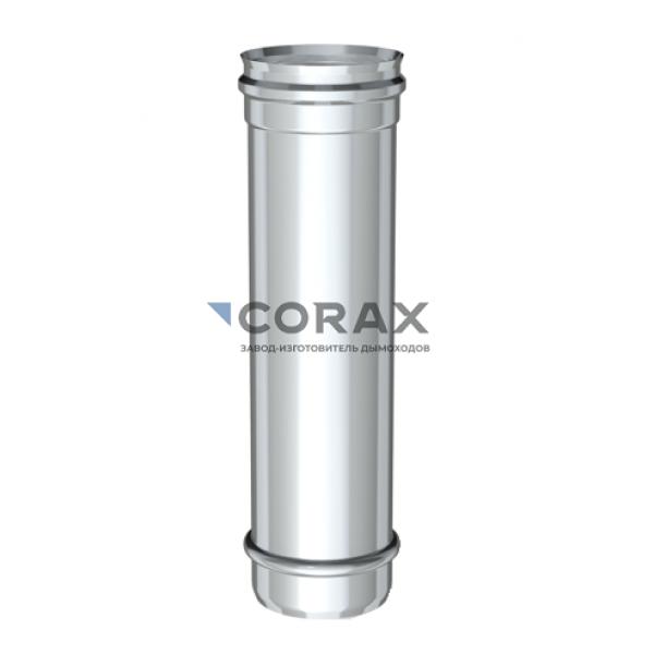 Дымоход Ø150 (430/0,8) L 500 мм (Corax)