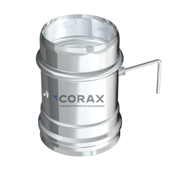 Шибер для дымохода Ø115 (430/0,8) (Corax)