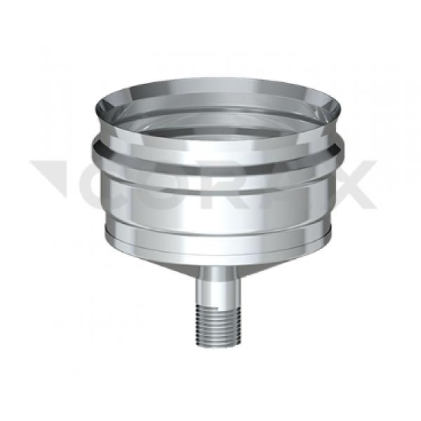 Конденсатоотвод для трубы (внешний) Ø150 (430/0,5) (Corax)