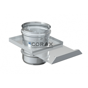 Шибер-задвижка для дымохода Ø115 (430/0,8) (Corax)