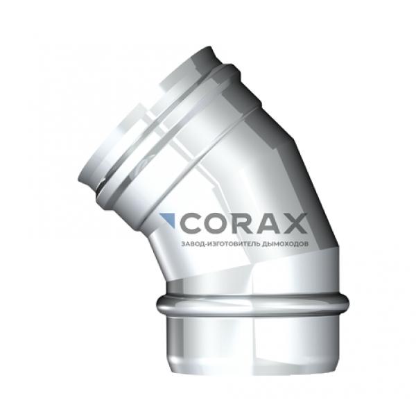 Отвод 135° для дымохода Ø180 (304/0,8) (Corax)