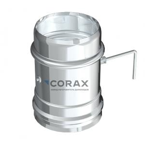 Шибер для дымохода Ø150 (430/0,8) (Corax)
