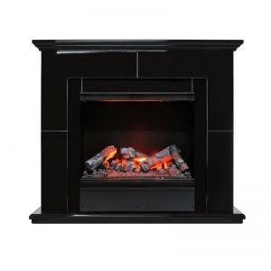 Suite Black - Черный лак с очагом Engine 56-600 LL