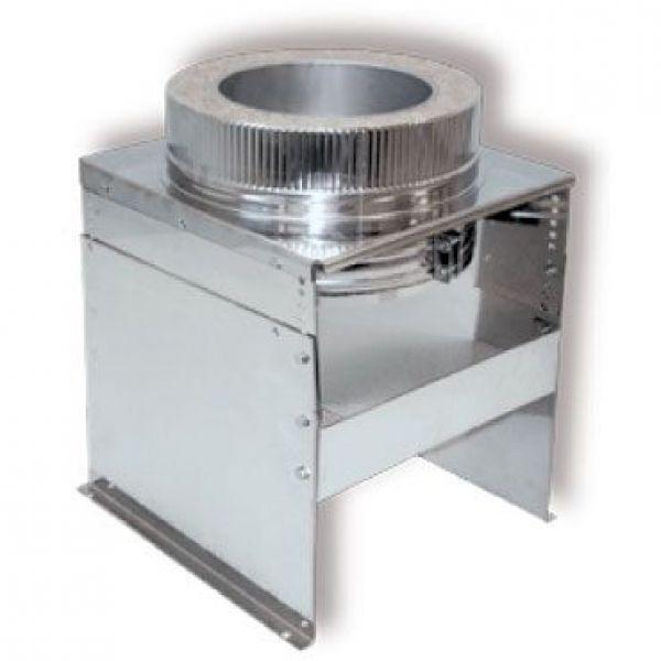 Опора напольная DOFH D130 с изол.50мм, нерж321/нерж304 (Вулкан)