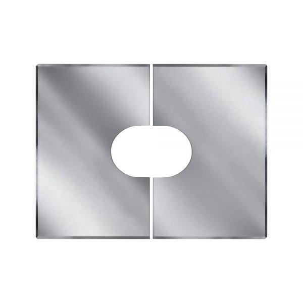 Фланец без изоляции V50R разрезной 0/20º D115/215 (Вулкан)