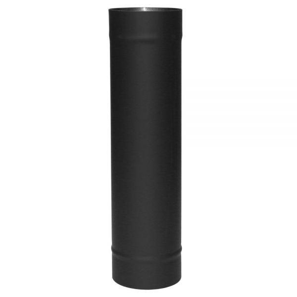 Труба VBR L500 D130, нерж, черная (Вулкан)