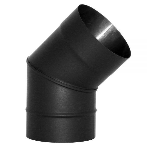 Отвод VBR 45º D130, нерж., черный (Вулкан)