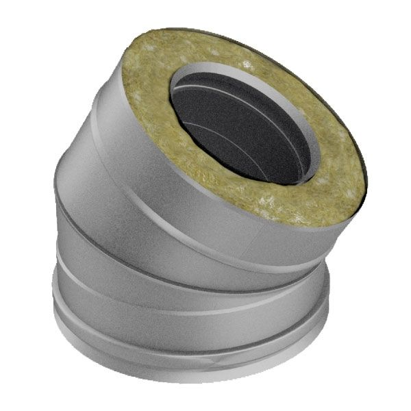 Отвод 30° V50R D120/220, нерж 321/304 (Вулкан)