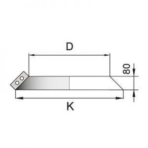 Юбка DUH на трубу D104 с изол.50мм, нерж304 (Вулкан)