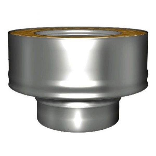 Переходник моно-термо V50R с D150 на D150/250, нерж 321/304 (Вулкан)