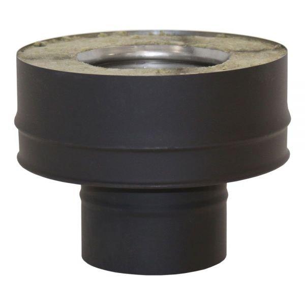 Переходник моно-термо VBR D150, нерж., черный (Вулкан)