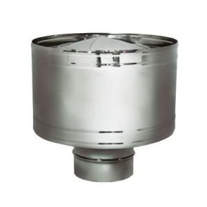 Дефлектор D300 без изоляции, матовый (Вулкан)