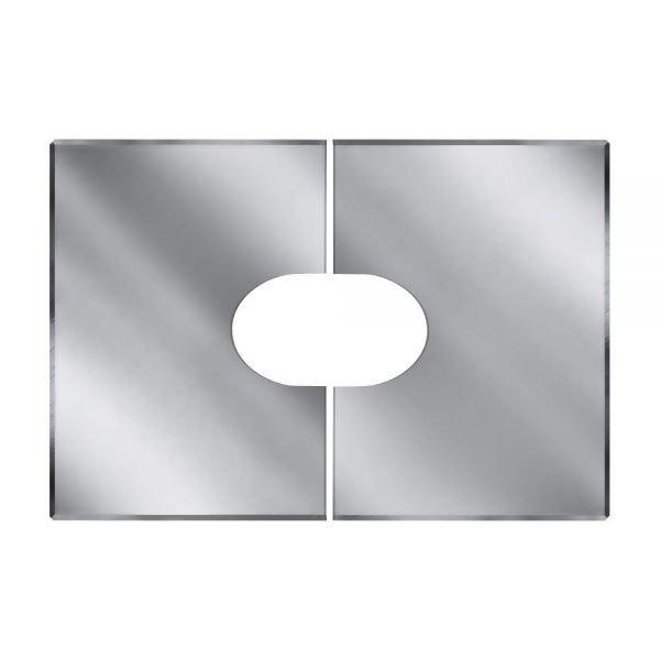 Фланец без изоляции V50R разрезной 33/45º D250/350 (Вулкан)