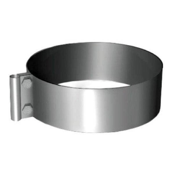 Хомут под молниеотвод на трубу V50R D160/260, нерж 304 (Вулкан)