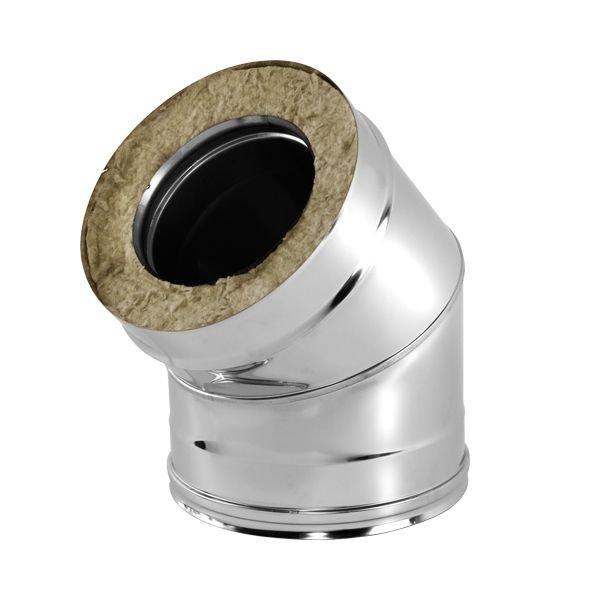 Отвод V50R 45° D160/260, нерж 321/304 (Вулкан)