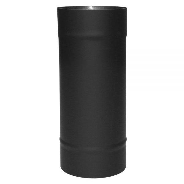 Труба VBR L250 D200, нерж, черная (Вулкан)
