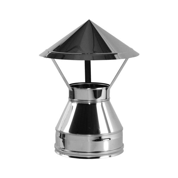 Зонт V50R D160/260, нерж 321/304 (Вулкан)