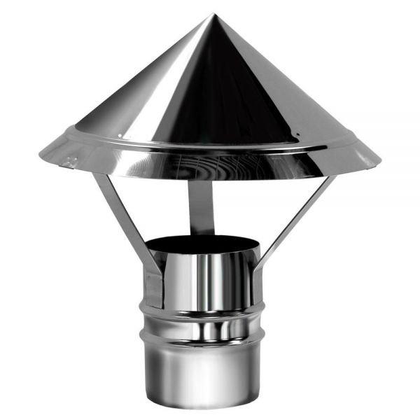 Зонтик D180 без изоляции, зеркальный (Вулкан)