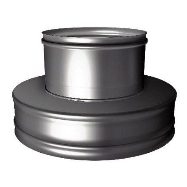 Переходник термо-моно V50R с D180/280 на D180, нерж 321/304 (Вулкан)