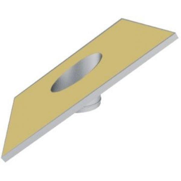 Фланец наклонный на трубу с изоляцией V50R D250/350, нерж 304 (Вулкан)