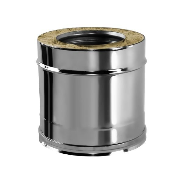 Труба V100R L250 D130/330, нерж 321/304 (Вулкан)