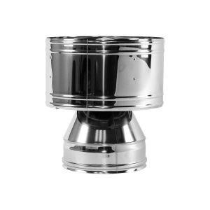 Дефлектор V100R D130/330, нерж 321/304 (Вулкан)
