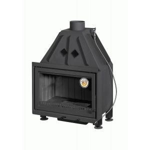 АЛЬФА 700-150 В с черным шамотом