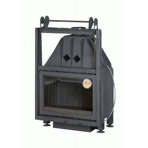 АЛЬФА 700 KВ с контргрузом черный шамот