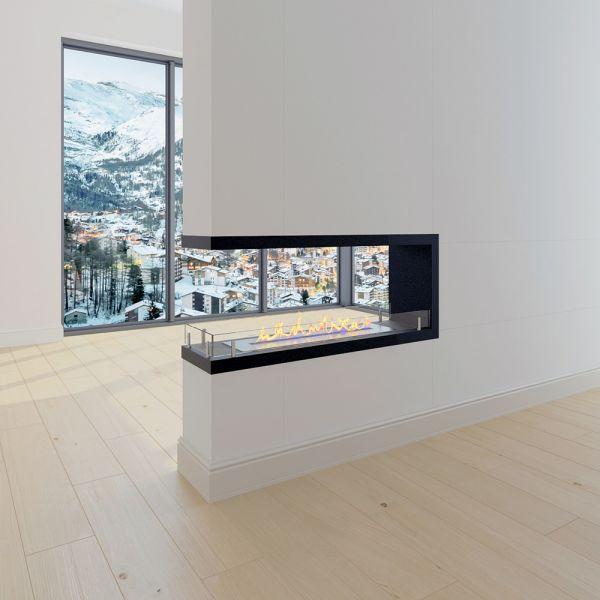 Встраиваемый биокамин Estremità finestra 600 (Firezo)