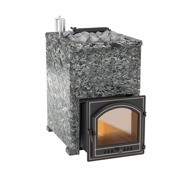 Банная печь Комплект Эверест INOX 20 (205) Пироксенит Элит