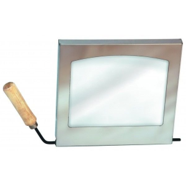 Дверца со стеклом для печи Вулкан
