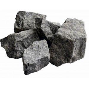Камни для бани Габбро-диабаз (коробка 20 кг)