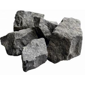Камни для бани Габбро-диабаз (мешок 20 кг)
