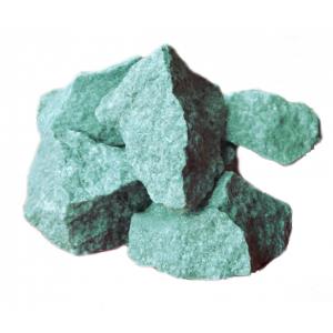 Камни для бани Жадеит колотый средний (ведро 5 кг)