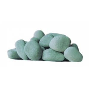 Камни для бани Жадеит шлифованный средний (ведро 5 кг)
