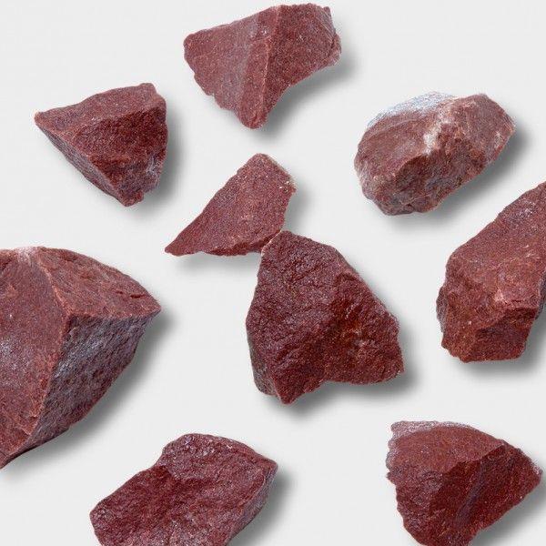 Камни для бани Малиновый кварцит (20кг)