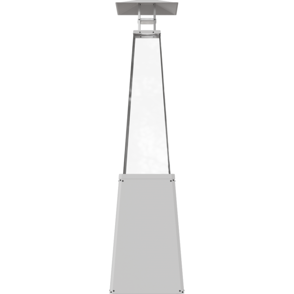 Нагреватель уличный UMBRELLA/BS/B/G31/37MBAR/S - без стоек, белый