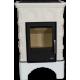 BRITANIA KPI, белый цоколь - вставка КОМБО, с допуском воздуха извне