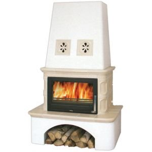 Керамическая печь LAPONIE, с теплообменником