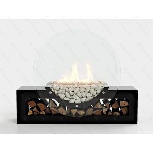 Напольный биокамин Lux Fire Рональдо