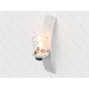 Настенный биокамин Lux Fire Олимпус D (белый)