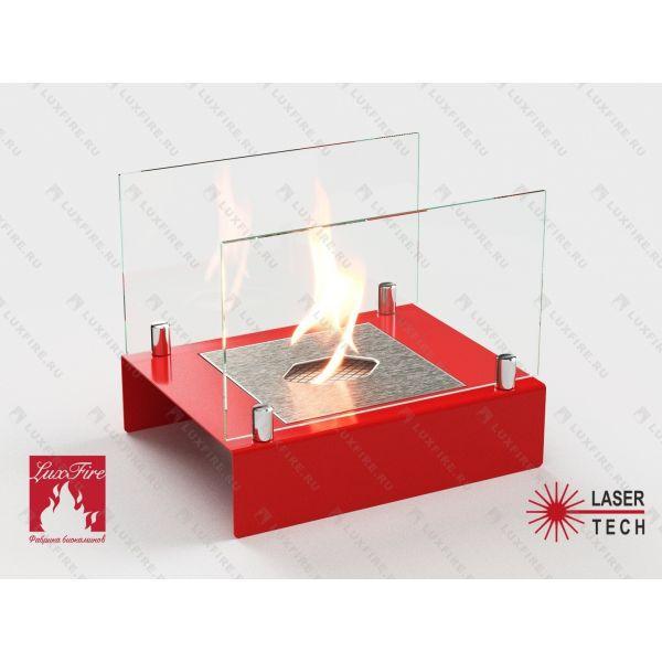 Биокамин Арлекино М (красный)