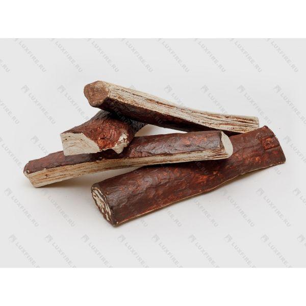 Набор керамических дров Сосновые четверики