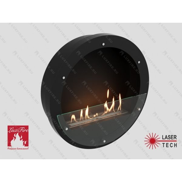 Биокамин Lux Fire Иллюзион 800 Н S (черный)