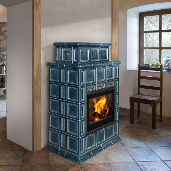 Печь-камин BARACCA OU керамика с теплообменником