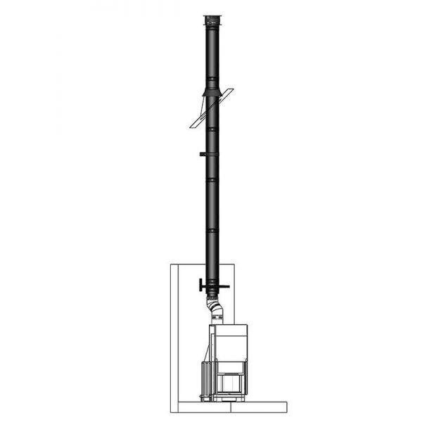 Дымоход Permeter 25 - комплекты для камина