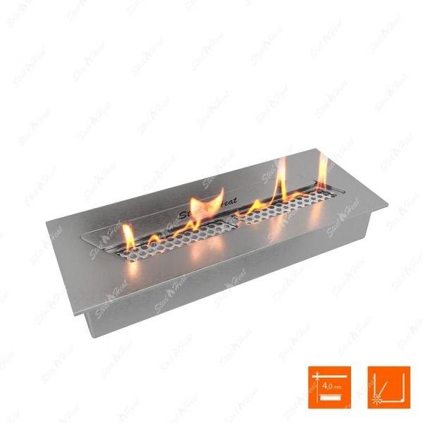 Биокамин SteelHeat S-LINE 340 (топливный блок)