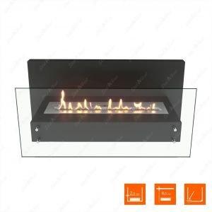 Настенный биокамин SteelHeat LINKOR 1000