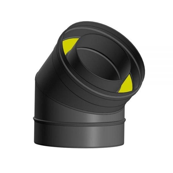 Отвод Термо 45* ОТ-Р 430-0.5/Оц. D130/190 (2S)