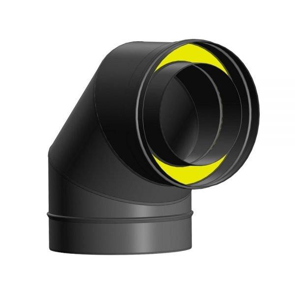 Отвод Термо 87* ОТ-Р 430-0.5/Оц. D100/160 (3S)